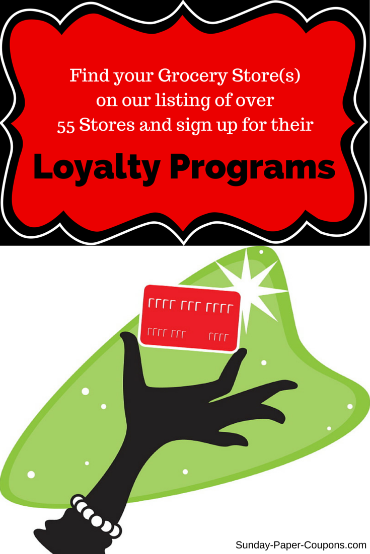 Grocery Loyalty Programs