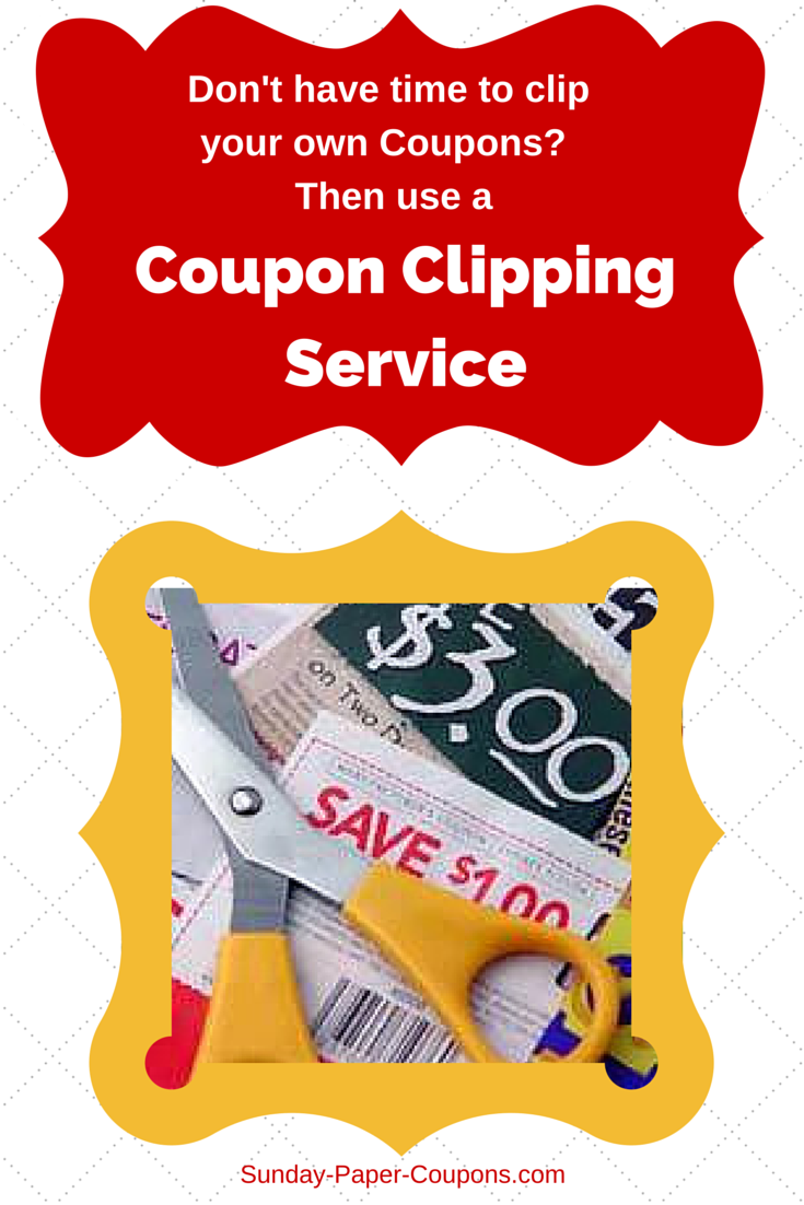 Caress coupons clipping service