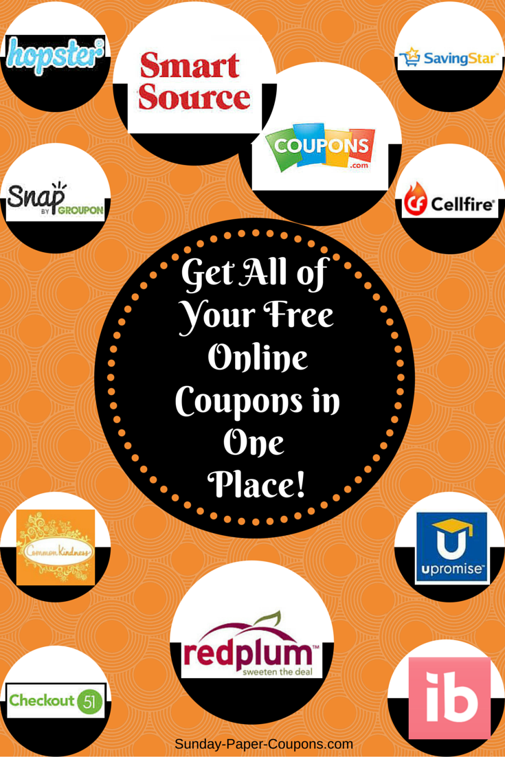 coupons book magazine coupons food coupons health care coupons home ...