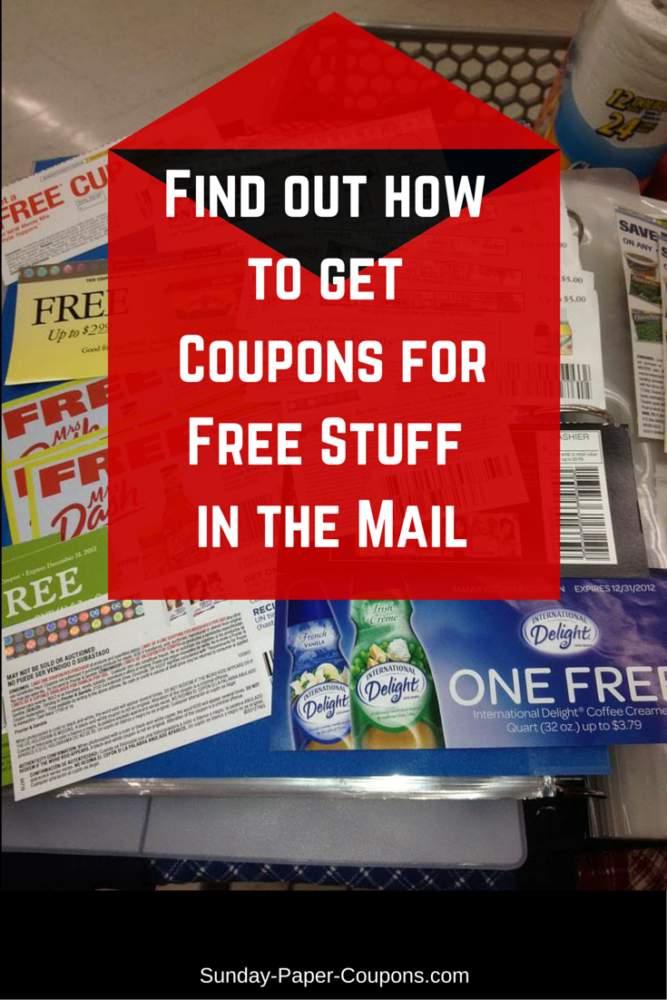 how to get coupons for free items