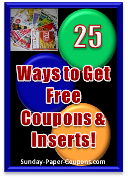 where to get cheap sunday papers coupons Cheap sunday coupon inserts - ca newspaper deals offers get sunday coupon inserts through a super cheap additional sunday papers to get tons of extra coupon.