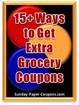 Sunday Paper Coupons - How to Get Free Coupons