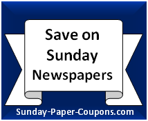 Get sunday paper coupons online